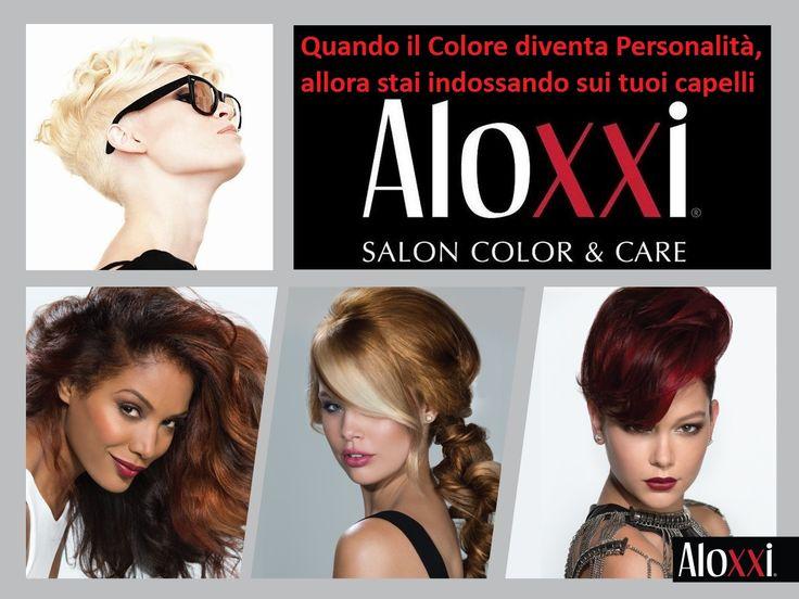 Noi usiamo i veri Colori Personalità AloXXi, gli unici che permettono al parrucchiere di fare DAVVERO moda e alla cliente di mostrare il proprio modo di essere ogni volta che vuole. E senza danneggiare i capelli ovviamente ;-)