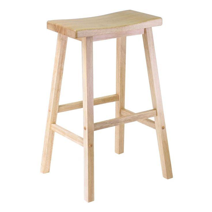 Winsome Wood 29-Inch RTA Single Saddle Seat Bar Stool - Beechwood - 84089  sc 1 st  Pinterest & Best 25+ Winsome wood ideas on Pinterest | Kindle vs tablet Nest ... islam-shia.org