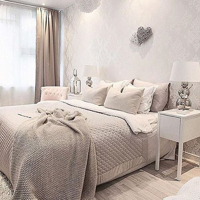 This beautiful bedroom by @pellavaa_ja_pastellia  though  #thestyleluxe