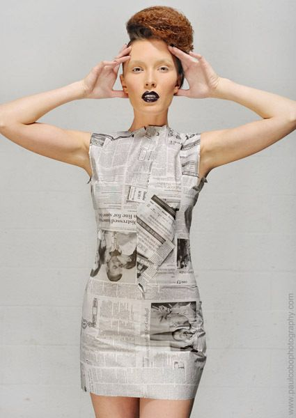 Recyclable Fashion: 20 Best Images About Recycled Catwalk On Pinterest