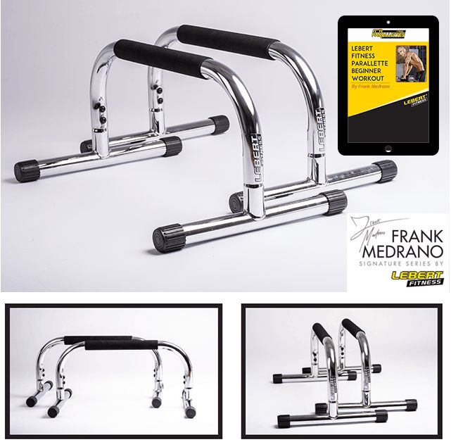 Frank Medrano Signature Series Chrome Paralllettes | Lebert Fitness