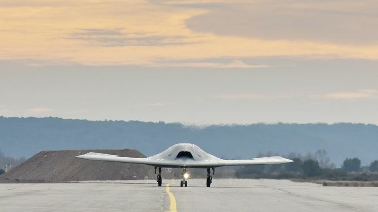 First flight of the French Dassault Aviation drone nEUROn, on 19 december 2012. Has made fifty test flights to date.