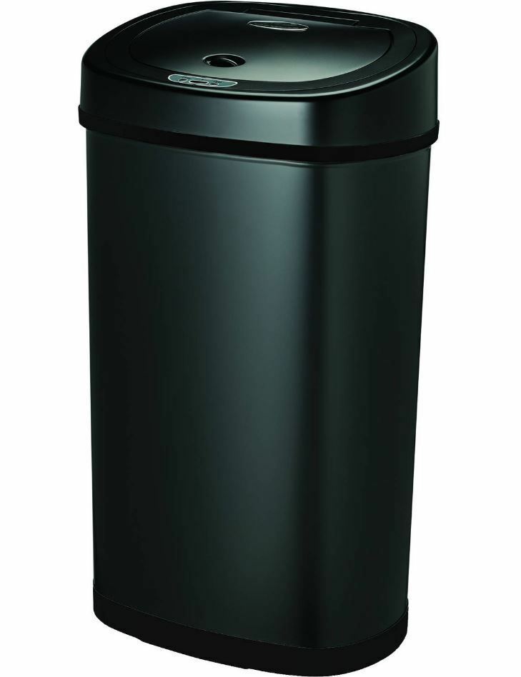 Details About Trash Cans For Kitchen Can With Lid Home Automatic