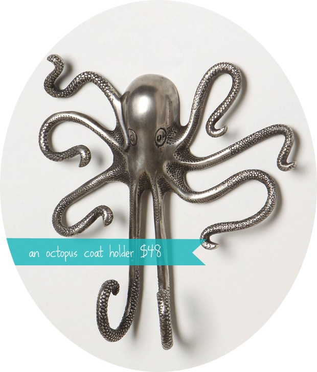 44 best octopus love images on pinterest octopuses octopus and for the home - Octopus coat hook ...