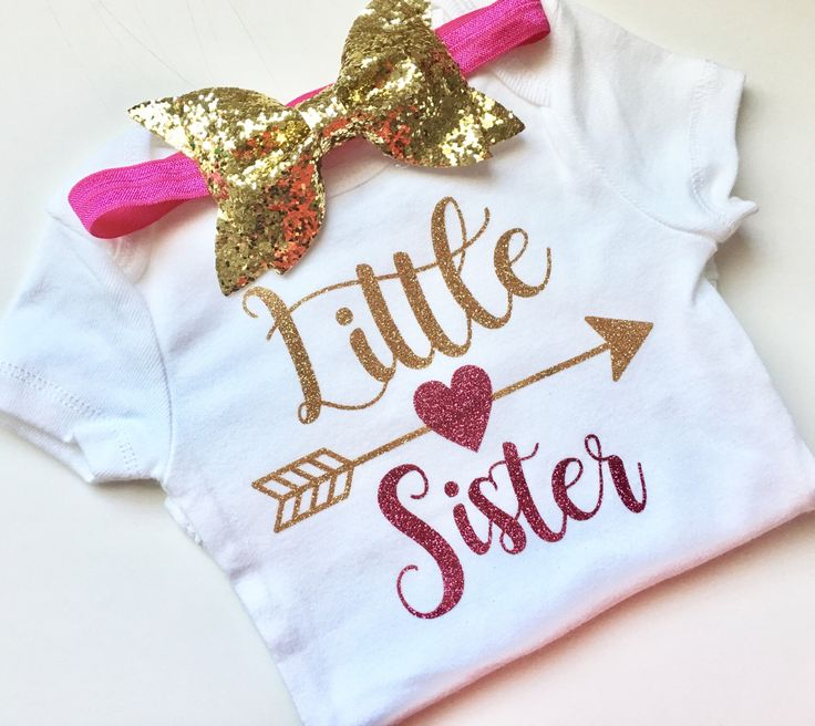 Little sister, newborn, babies, baby girl, big sister, mamas mini, daddys girl, baby shower, infant, bodysuit, onesie by PerfectlyPINKBow on Etsy https://www.etsy.com/listing/489793114/little-sister-newborn-babies-baby-girl