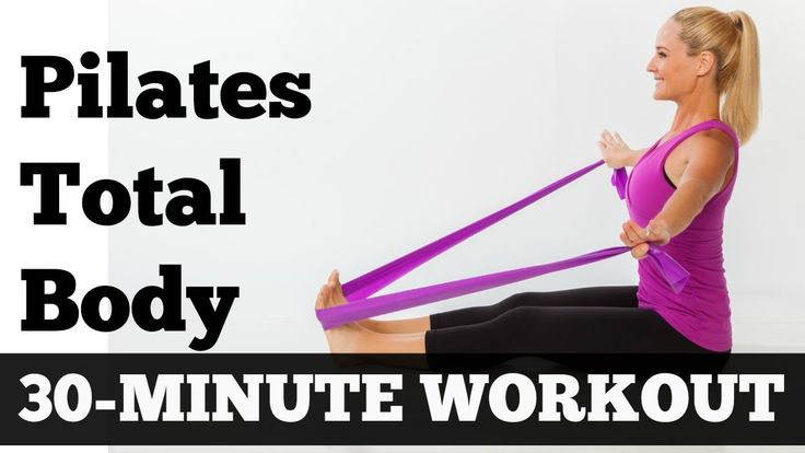 Pilates Workout 30 Minutes Full Body Sculpting Exercise Video for All Le...