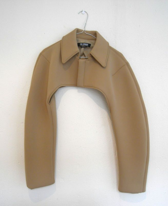 // neoprene bolero jacket • raf simons