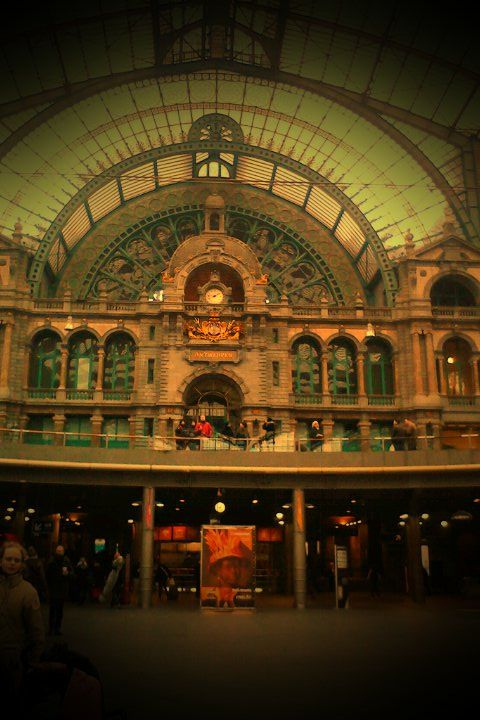 Most beautiful train station ever been to.