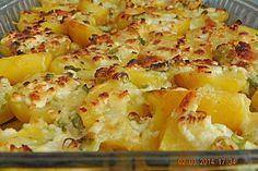 Mozarella-Kartoffeln schnell aus dem Ofen #Rezept