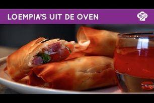 FOODGLOSS – Loempia's uit de oven (vlees en vega)