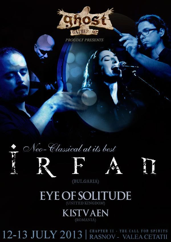 """IRFAN, meaning """"awareness"""" or """"mystical knowledge,"""" is the name of a Bulgarian music group performing world music and so called neo-classical darkwave. Their music encompasses folk themes from Eastern Europe, the Middle East, North Africa, Byzantium and Medieval Europe. With rich, haunting vocal harmonies and an assortment of wind, string, and percussion instruments from Europe, the Balkans, India, and Persia, their sound carries the listener to distant landscapes and ancient times. - #Music"""