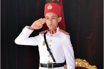 Le prince héritier Moulay El Hassan du royaume du Maroc