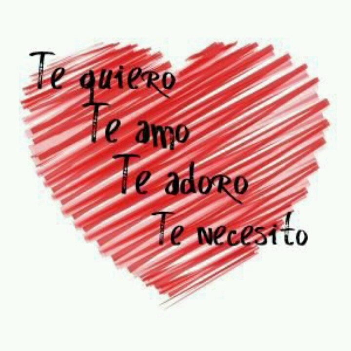 Te amo ....