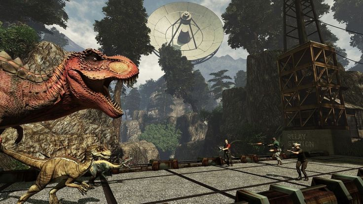 primal carnage | Primal Carnage: Extinction Coming to PC and PS4, Primal Carnage ...