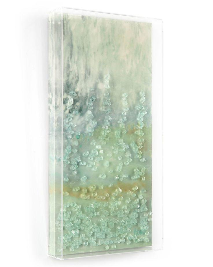 126 Best Shard Glass And Resin Art Images On Pinterest