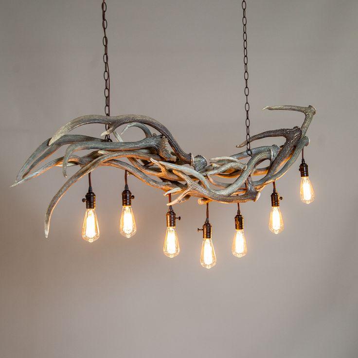 Best 25+ Antler chandelier ideas on Pinterest   Cabin chandelier ...