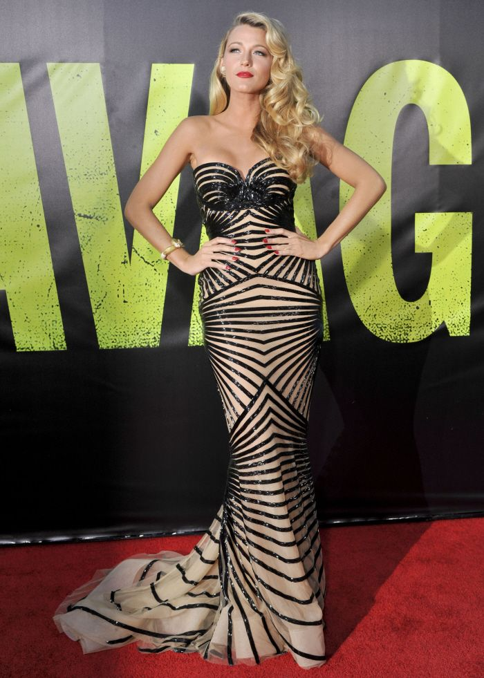 Blake Lively looking STUNNING in Zuhair Murad