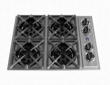 """30"""" BlueStar Cooktop - Modern - Cooktops - philadelphia - by BlueStar"""