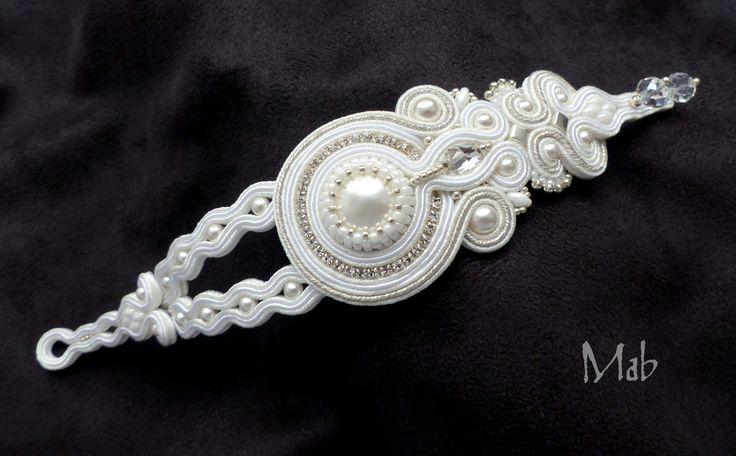 Mab Magdalena Bielska - soutache bracelet