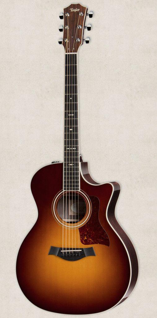 2015 Taylor 714ce Grand Auditorium Cutaway ES2 Acoustic Electric Guitar Vintage Sunburst w/Case