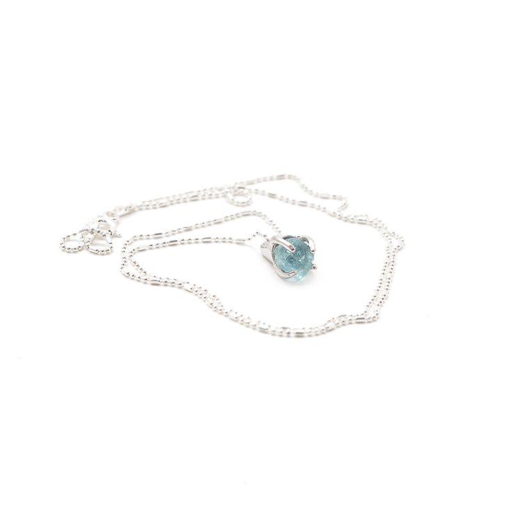 ALOHA GAIA - LEIA Pendant With Aquamarine, $30.00 (http://alohagaia.com/jewelry/necklaces/leia-pendant-with-aquamarine/)