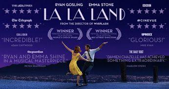 Mεταμοντέρνο μιούζικαλ και ήδη βραβευμένο στο Φεστιβάλ Κινηματογράφου Βενετίας. Ταλαντούχος, «μετρημένος» και όμορφος Ράιαν Γκόσλινγκ, απίθανη Έμα Στόουν, εξαιρετική μουσική, ιδανικό για τζαζόφιλους. ---------------------------------------------------------------- #movie #cinema #musical #lalaland #fragilemagGR http://fragilemag.gr/la-la-land-movie/