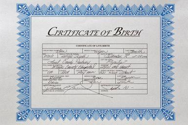 How to Obtain a Copy of Your Birth Certificate