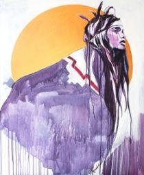 Hannah adamaszek / Aztec / Curious Duke Gallery
