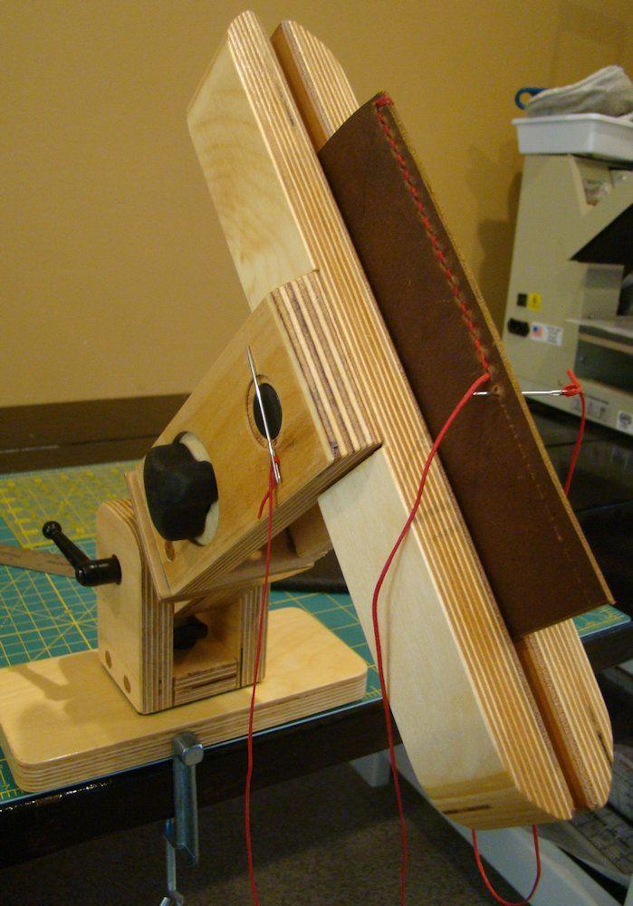XL Wing Leather Craft Pony-Schraubstock zum Nähen mit optionalem Drehgelenk und Sockeln (12 Z…