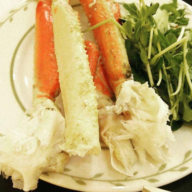 #crab #seafood #sea #japan #food #instagood #delicious #yummy #marine #サーモン #instafood #happy #dinner #love #japanesefood #カニ #蟹 #かに #海 #美味しい #海鮮 #写真 #癒し #お薦め #ズワイガニ #おいしい #夕食 #ディナー #travel #幸せ