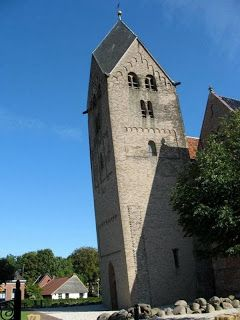 The Tower of Bedum in the northern Dutch town of Bedum, also declined more than the Leaning Tower of Pisa. height of 55.86m, Pisa's tower leans about 4 meters, while the tower leans 2.61m Bedum in (8.6 feet) at a height of 35.7m.