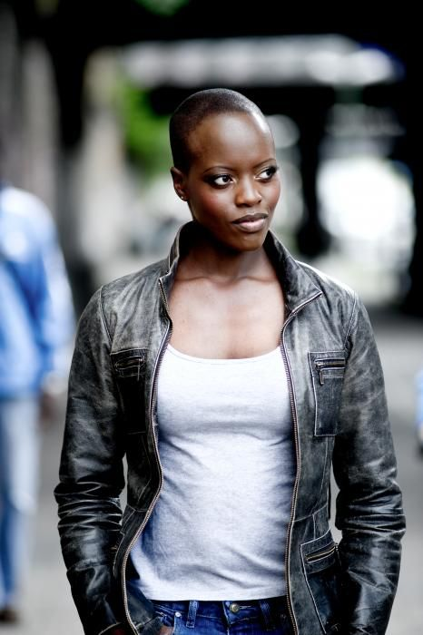 "superheroesincolor: "" thenerdsaurus: "" German - Ugandan actress Florence Kasumba "" *from my regular blog* """