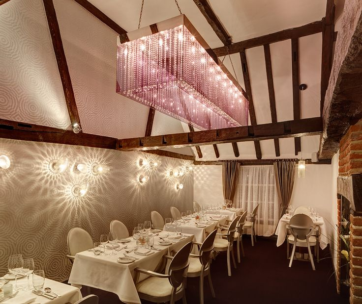 The Fine dining 'Crystal room'
