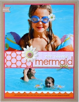 MermaidScrapbook Ideas, Art Mermaid, Swimming Layout, Little Mermaid, Digital Scrapbook, Camps, Scrapbook Layout, Mermaid Favoritelayout, Mermaid Favorite Layout