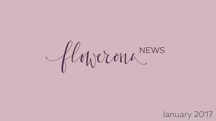 Flowerona News ( January 2017 | flowerona TV - a YouTube channel for florists and florists-to-be. This week's video features a round-up of happenings in the floristry industry this month, including details about the imminent New Covent Garden Flower Market move, British Flowers Week and a new Bursary Award from McQueens.