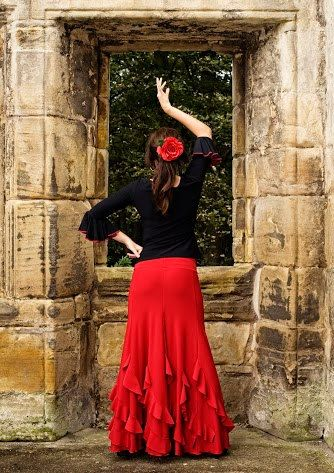 Flamenco Practise Skirt by FlamencoBoutique1 on Etsy, £45.00