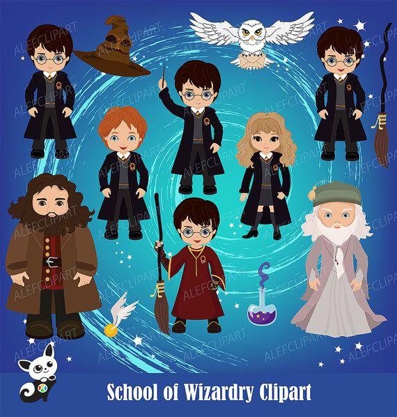 wizards clipart  fan art clipart  wizard party digital clip art fancy letters clip art fancy letters
