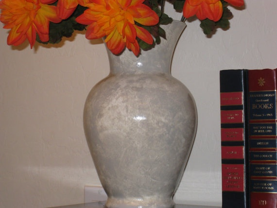 Hand crafted Faux Marble Vase by Noelani's on Etsy, $28.00