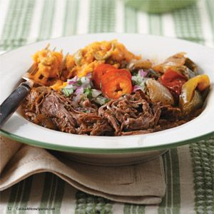 Awesome! Cuban Flank Steak with Peppers & Tomatoes   Cuisine at home ...