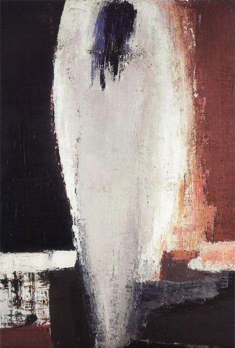 Nicolas de Staël, nu jeanne -1953