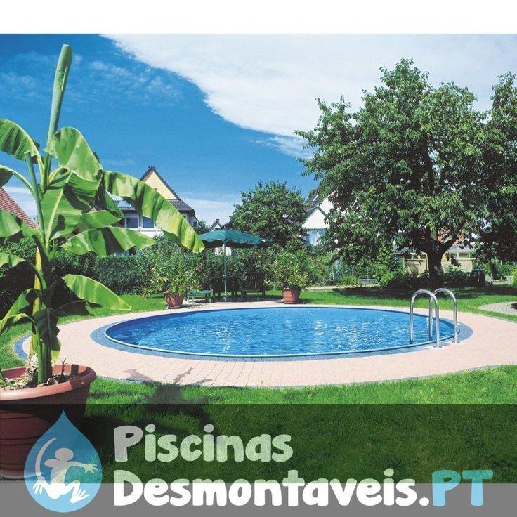 Bom dia para todos! Se quiserem desfrutar duma piscina enterrada, apresentamos-lhes a série Sumatra da marca Gre. Disponíveis em forma redonda e oval com vários tamanhos para escolher. Piscinas elegantes e de grande qualidade ao alcance de todos. http://www.piscinasdesmontaveis.pt/piscinas-enterradas/