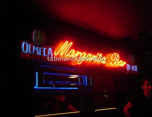 Margarita Bar Neon Tabelası. Neon Tabela