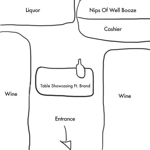 This is a psychology of a liquor store                                                                                                                                                                                 More