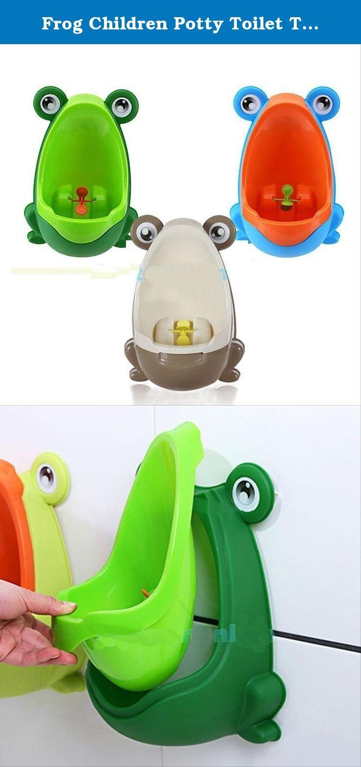 Frog Children Potty Toilet Training Kids Urinal for Boys Pee Trainer Bathroom (Green). Frog Children Potty Toilet Training Kids Urinal for Boys Pee Trainer Bathroom #ส้วมสำหรับเด็ก 2.
