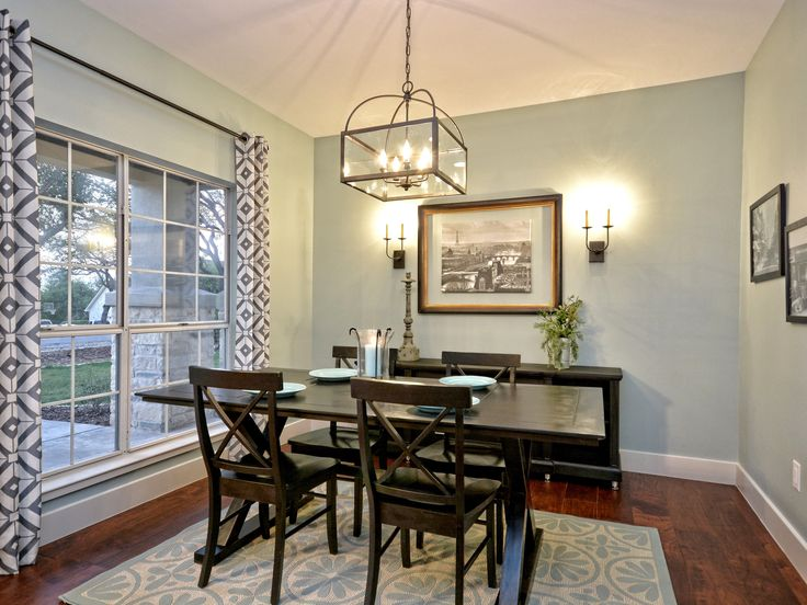 Dining Room Sherwin Williams Copen Blue: Neglected 1980's Fixer Upper In Austin Gets A Whole New