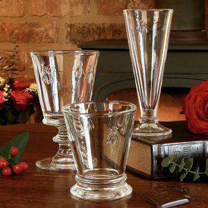 Luxury Honey Bee Flute, Wine Glass And Tumbler