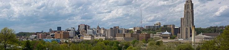 Oakland Skyline - City of Pittsburgh Neighborhood