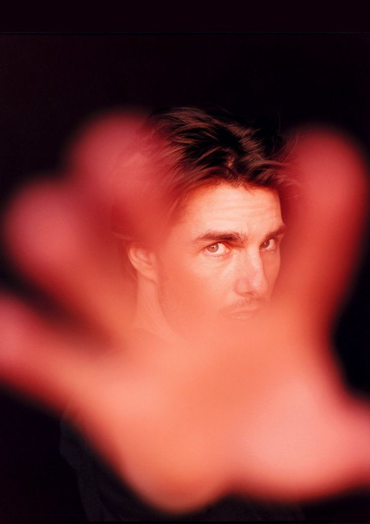 Portrait Photography of Tom Cruise