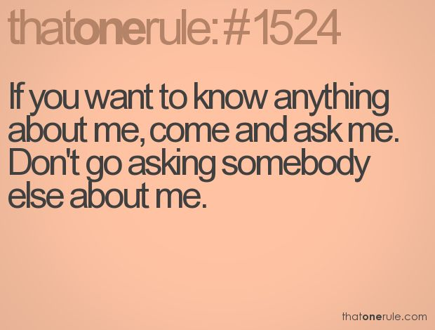 Defiantly.... I Hate That People Think They Know You By