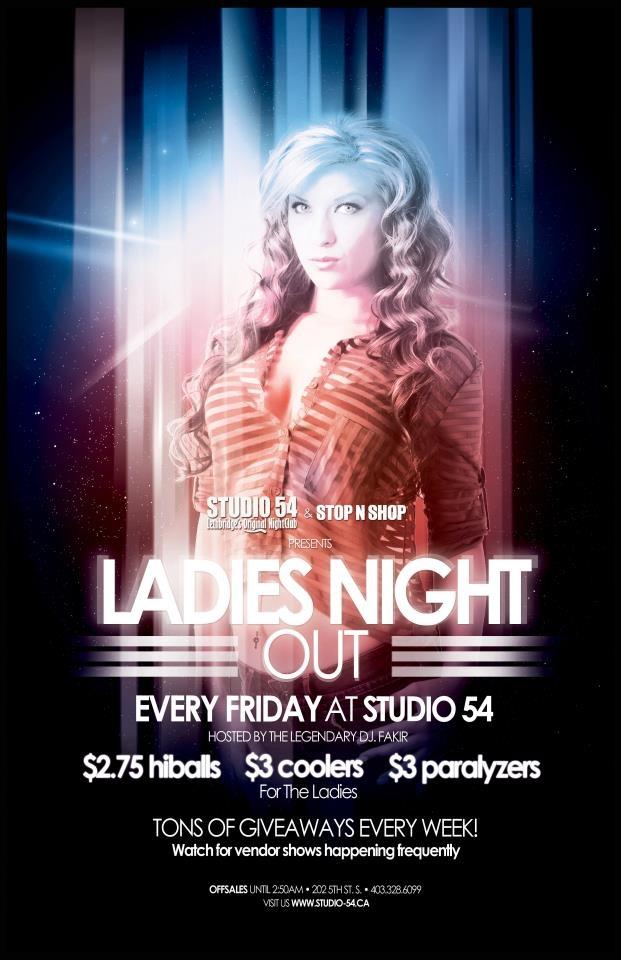 Ladies Night - Studio 54